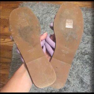 Topshop Shoes - Topshop lavender sandals